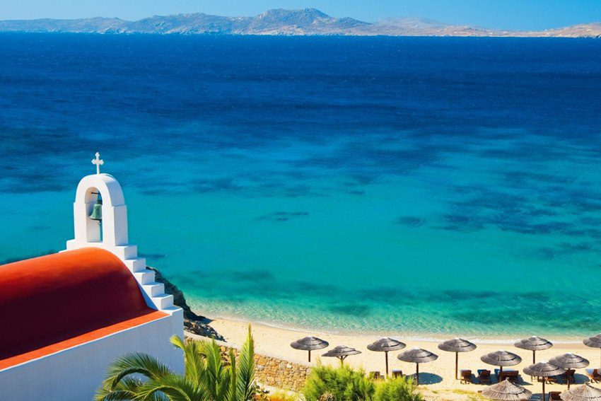 4 Beaches in Mykonos